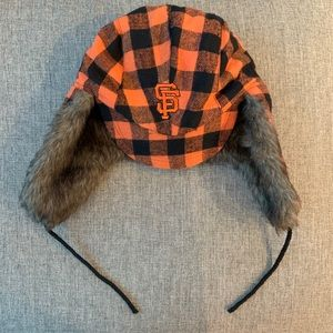 San Franciso Giants Two-flap hat, new!